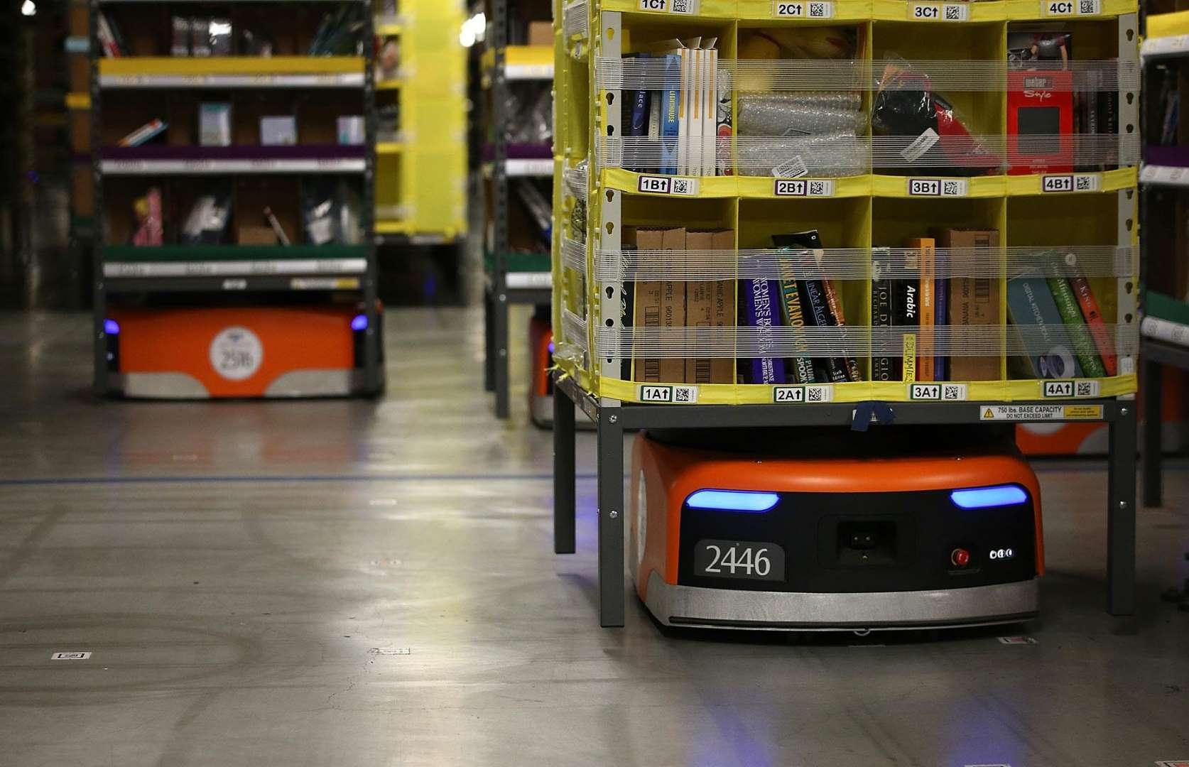 Замена людей роботами началась